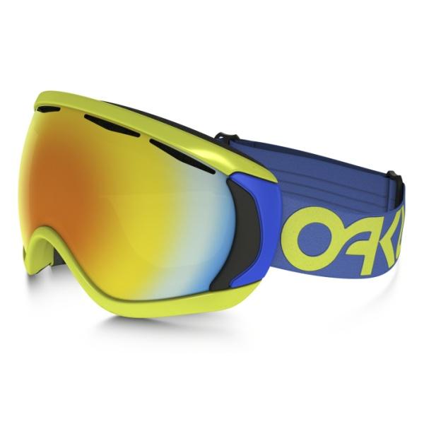 Горнолыжная маска Oakley Canopy темно-голубой