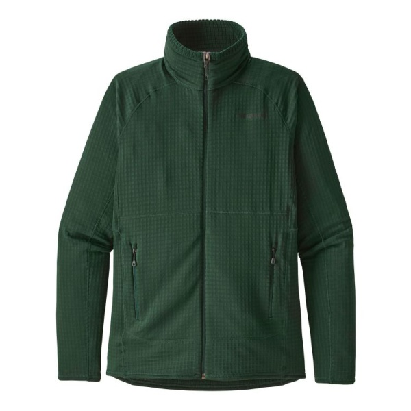 Куртка Patagonia Patagonia R1 Full Zip темно-зеленый XXL куртка patagonia patagonia r1 full zip
