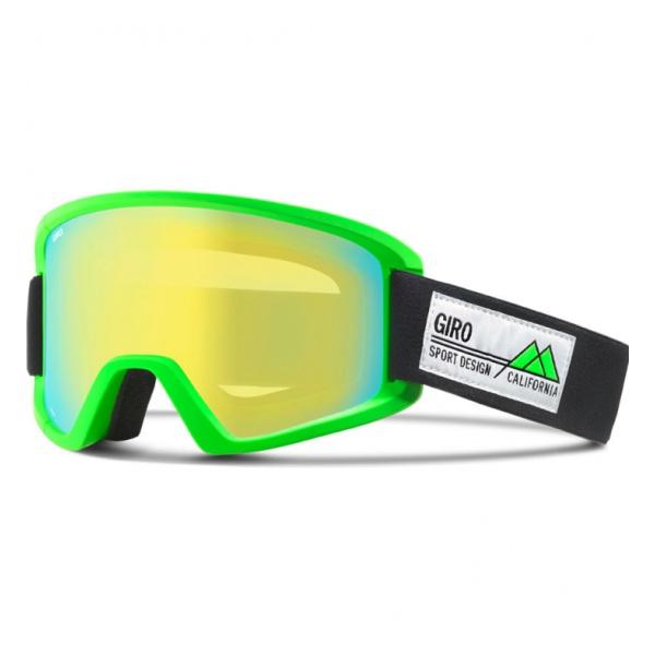 Горнолыжная маска Giro Semi светло-зеленый