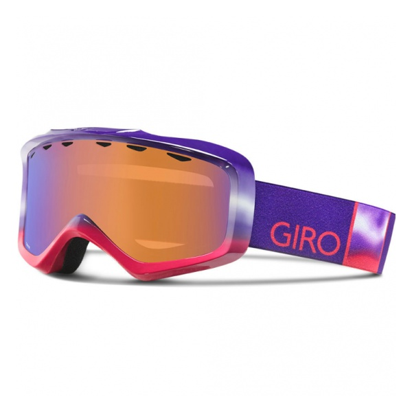 Горнолыжная маска Giro Grade Юниор. фиолетовый