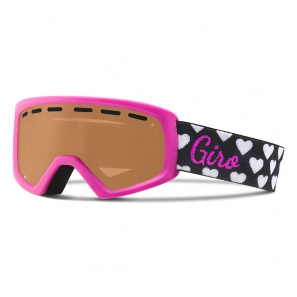 Горнолыжная маска Giro Giro Rev детская розовый купить биксеноновые линзы 9 го поколения