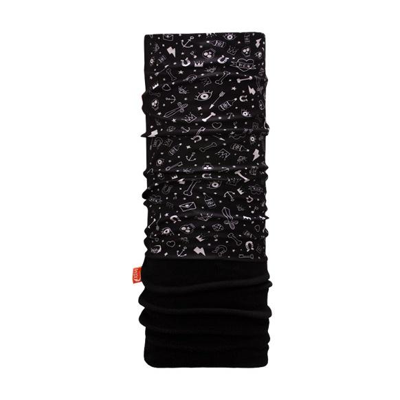 Бандана WDX Polar Headwear черный 53/62