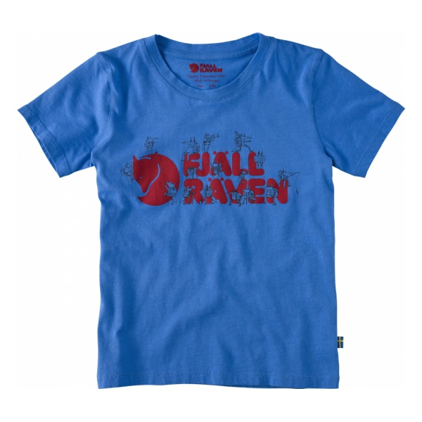 Футболка FjallRaven Kids Trek Logo T-Shirt для мальчиков