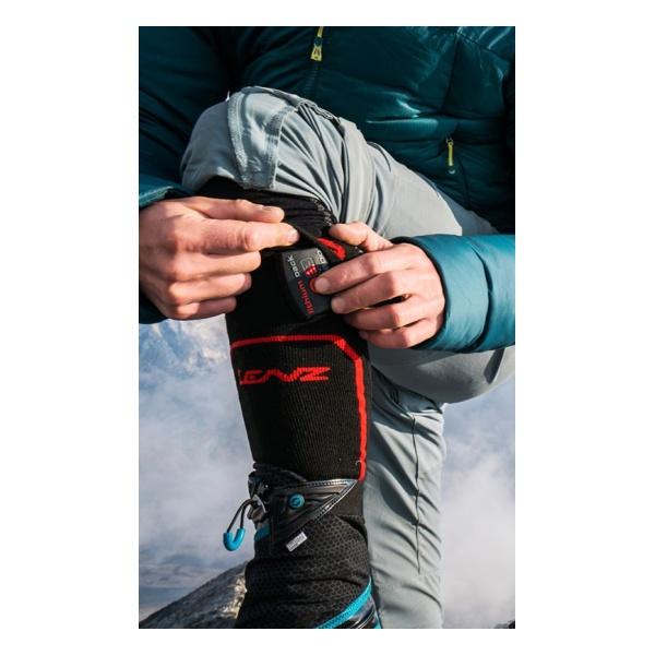 Купить Набор Lenz носки унисекс + аккумулятор Heat Sock 1.0 Lithium Pack RCB 1200 (адаптер Eu/Us)