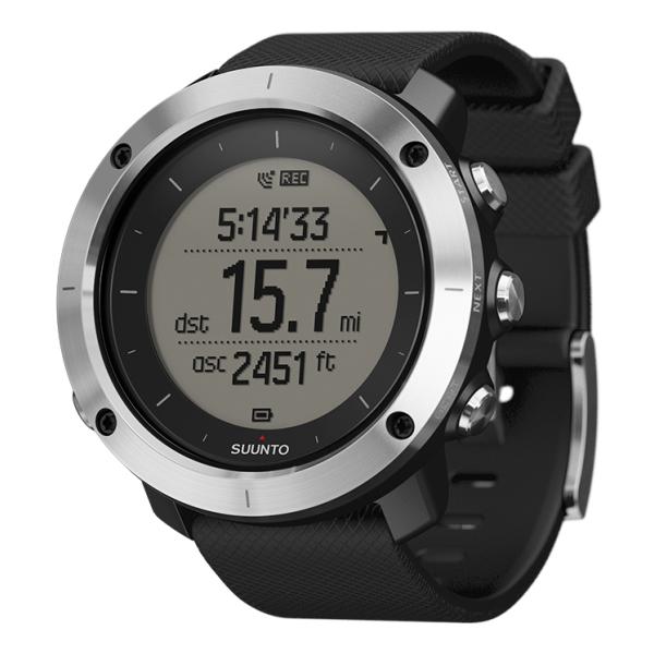 Часы Suunto Suunto Traverse черный спортивные часы suunto traverse graphite ss022226000