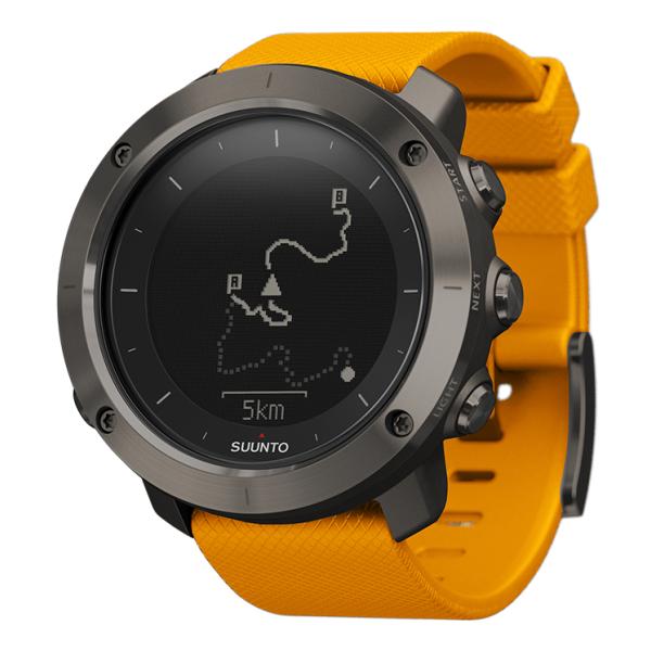 Часы Suunto Suunto Traverse оранжевый спортивные часы suunto traverse graphite ss022226000