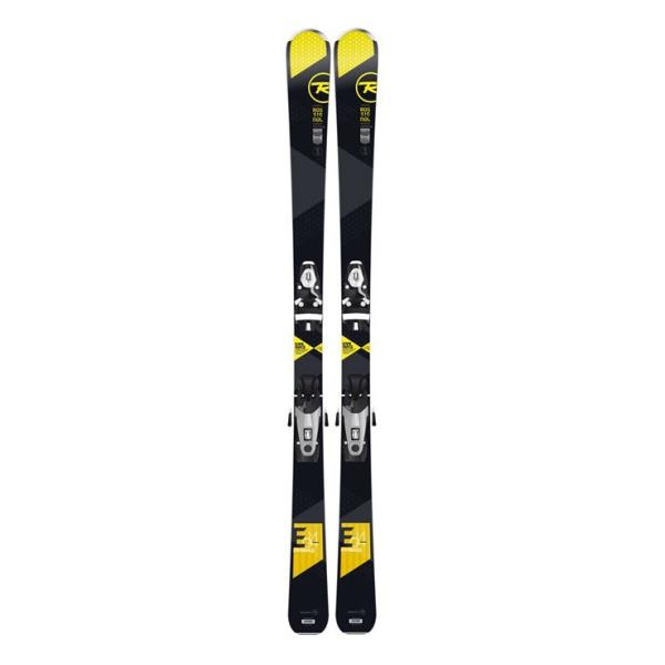 Горные лыжи Rossignol Experience 84 Ca Open + Axial3 Dual 120 B90 черный (15/16)