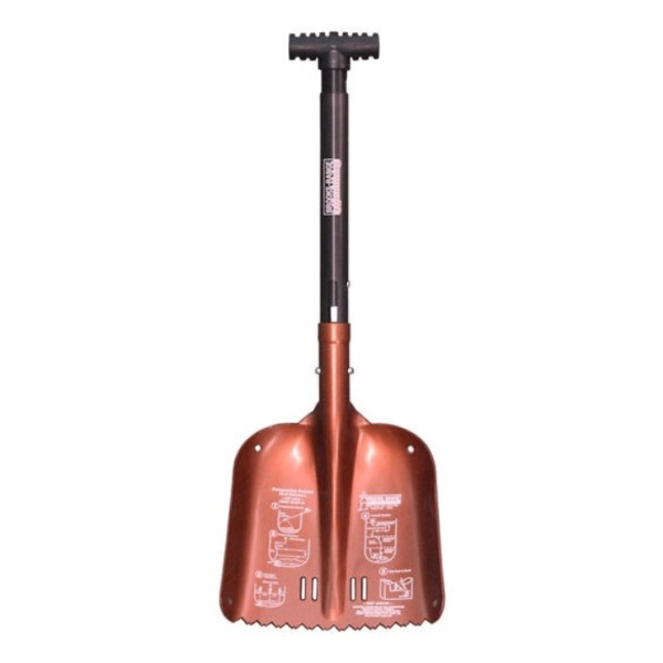 Лопата лавинная Brooks-Range Brooks-Range Compact Shovel красный mizumi рога 6061 t6 22 2 х 85 мм