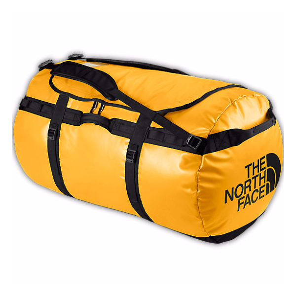 цены Баул The North Face The North Face Base Camp Duffel Xl желтый 132л