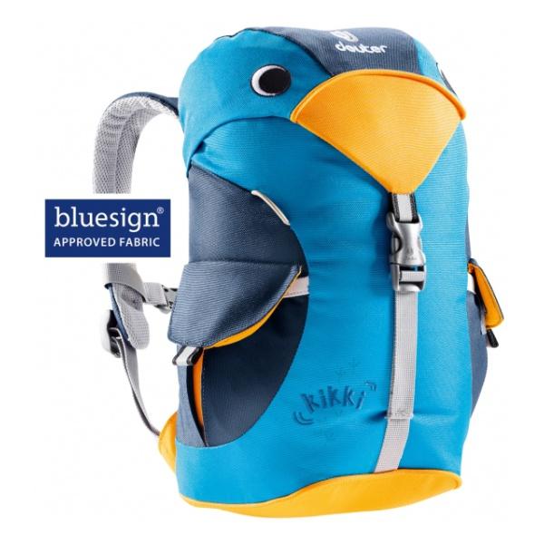 Рюкзак Deuter Deuter Kikki голубой 6л велорюкзак с отделением для ноутбука deuter giga bike 28 л 80444 3980 сине голубой