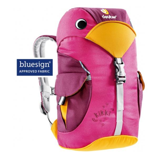 Рюкзак Deuter Deuter Kikki темно-розовый рюкзак детский deuter deuter детский рюкзак kikki magenta blackberry