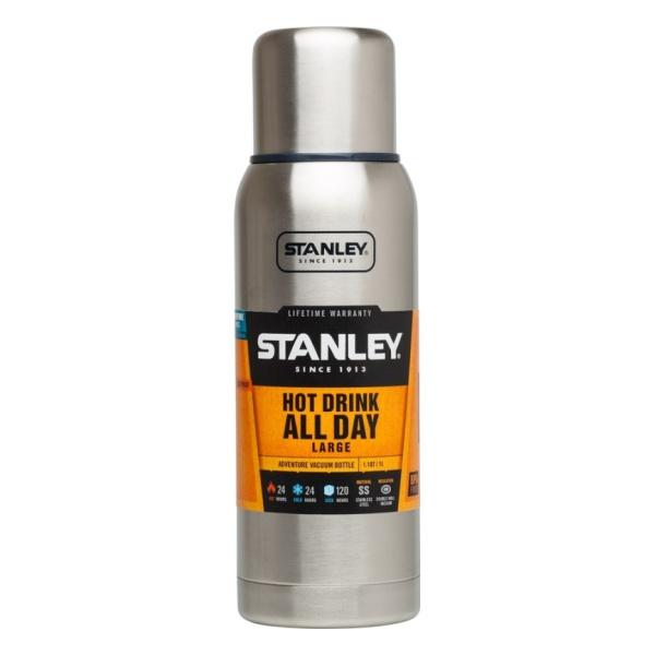 Термос Stanley Stanley Adventure 1 L серебристый 1л