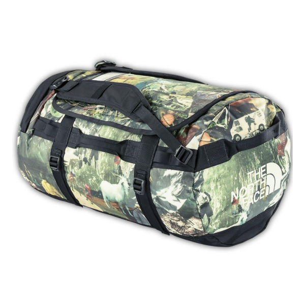 Баул The North Face Base Camp Duffel M хаки 69л