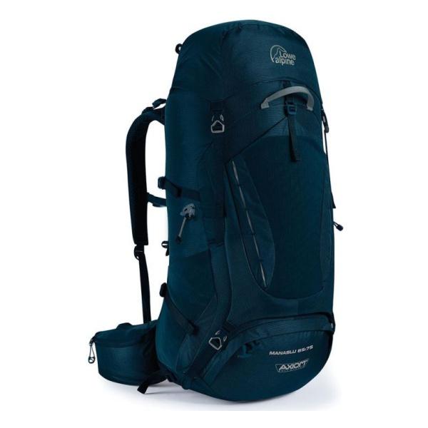 Рюкзак Lowe Alpine Lowe Alpine Manaslu 65:75 темно-синий 65/75л рюкзак lowe alpine lowe alpine diran l 65 75 черный 65 75