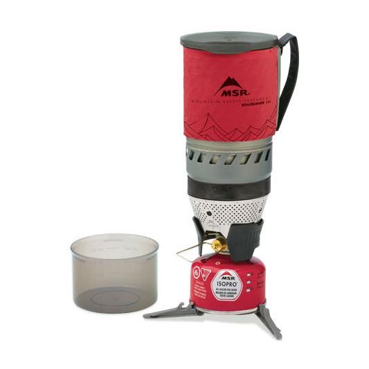 Газовая горелка MSR MSR Windburner красный 1л  цена и фото