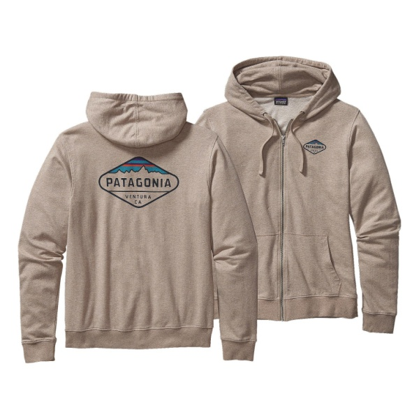 Толстовка Patagonia Fitz Roy Crest Lw Full-Zip