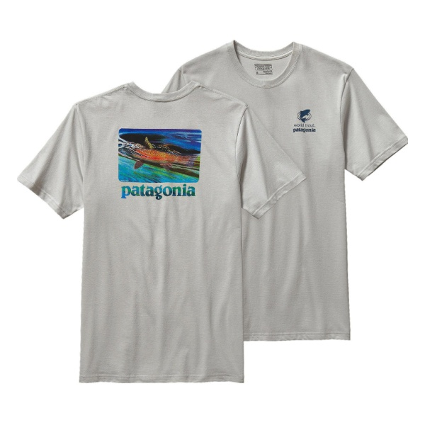 Футболка Patagonia World Trout Slurp Cotton T-Shirt