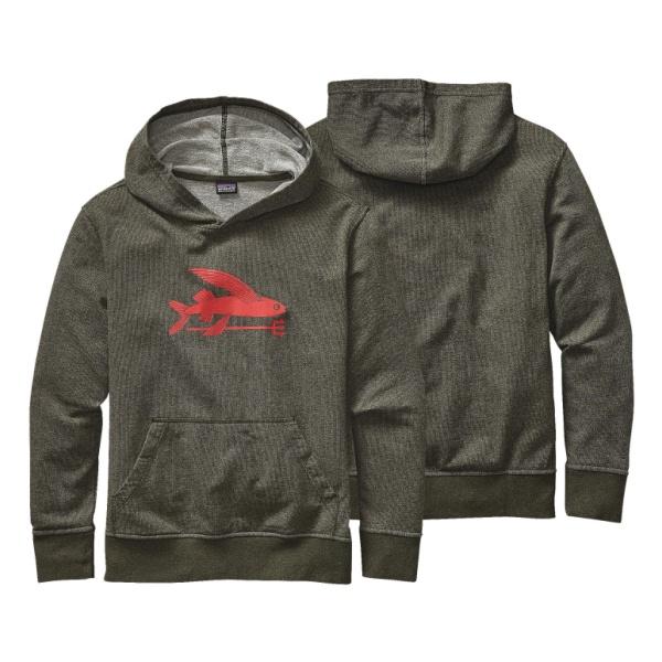 Толстовка Patagonia LW Hooded Monk Sweatshirt для мальчиков