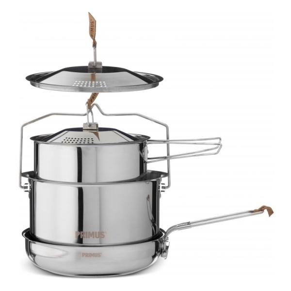 Набор посуды Primus Campfire Cookset Large серебристый