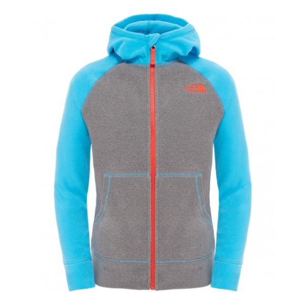 Куртка The North Face Glacier FZ Hoodie для мальчиков