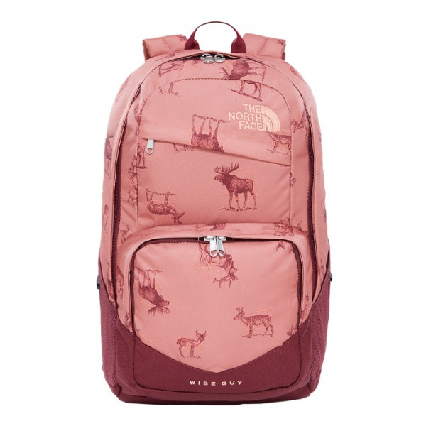 Рюкзак The North Face The North Face Wise Guy 27 темно-розовый 27л margaret wise brown the color kittens