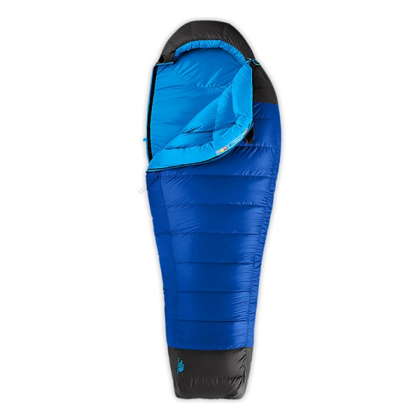 Cпальник The North Face Blue Kazoo левый голубой LNG