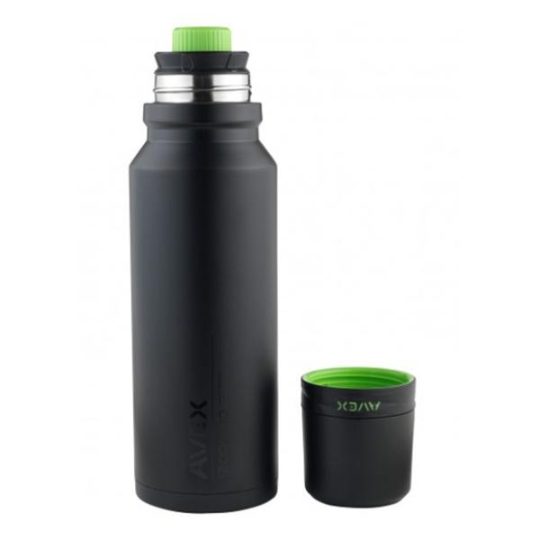 Термос Avex 3Sixty Pour черный 1.2л