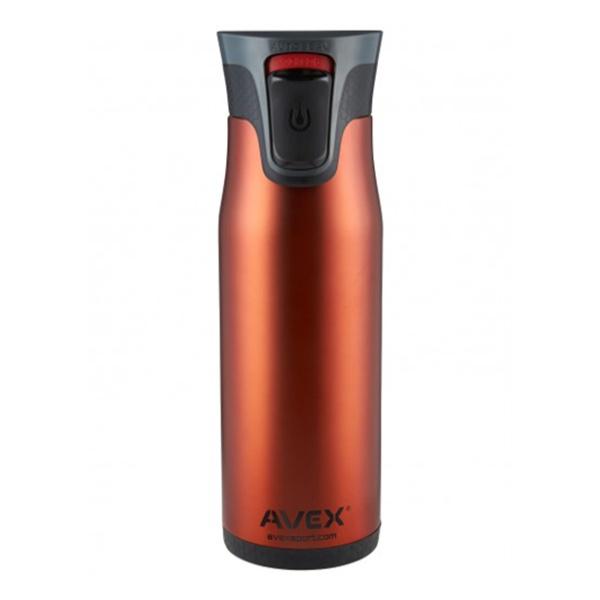 Термостакан Avex Highland оранжевый 0.6л