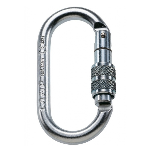 Карабин CAMP Camp Oval Steel Lock цены онлайн