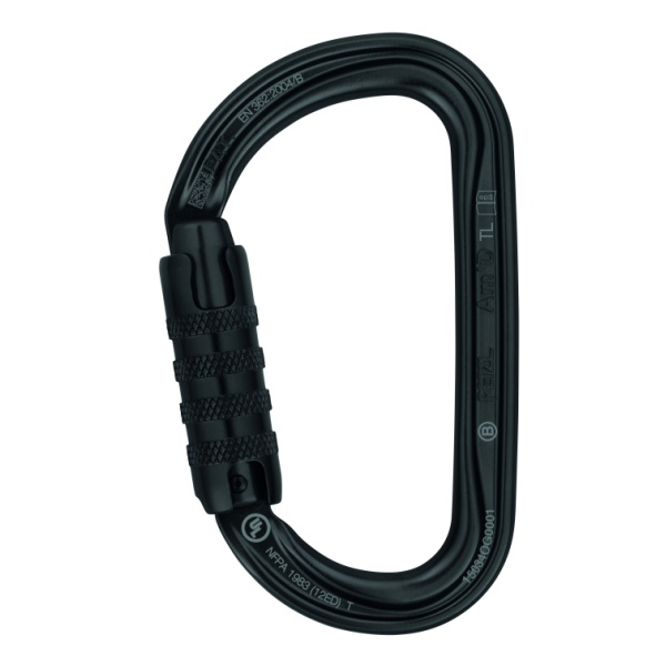 Карабин Petzl Petzl Am'D Triact-Lock black черный TRIACT/LOCK