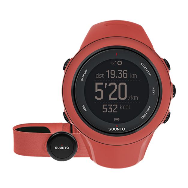 Часы Suunto Ambit 3 Sport HR красный