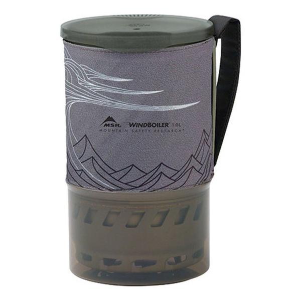 Кастрюля MSR MSR Windburner 1 л серый 1л
