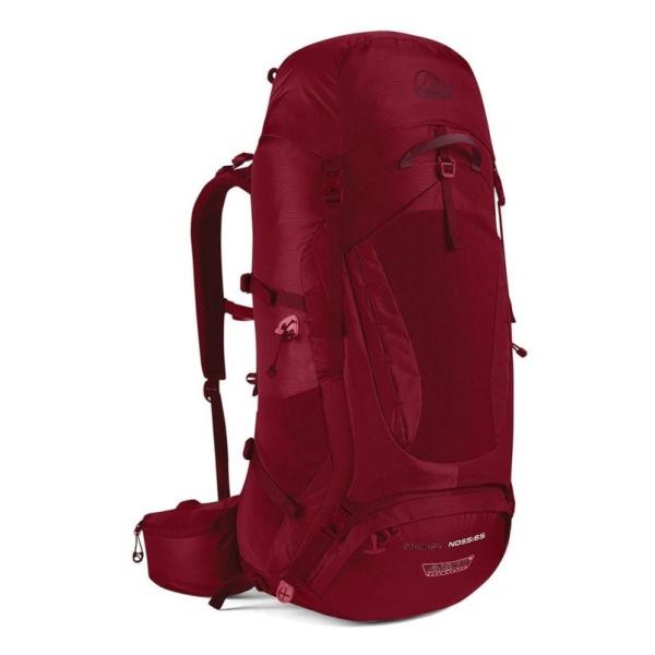 цена на Рюкзак Lowe Alpine Lowe Alpine Manaslu ND55:65 женский темно-красный 55/65