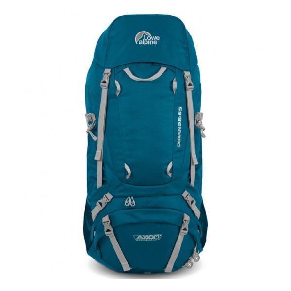 Рюкзак Lowe Alpine Lowe Alpine Diran L 65:75 голубой 65/75 рюкзак lowe alpine lowe alpine cerro torre 65 85 l черный 85л