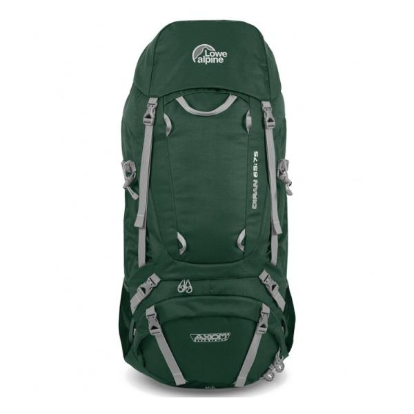 Рюкзак Lowe Alpine Lowe Alpine Diran L 65:75 зеленый 65/75 чехол для штатива jsunlight 50 65 75 80 95cm