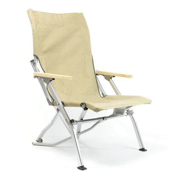 Стул складной Snow Peak Folding Beach Chair хаки