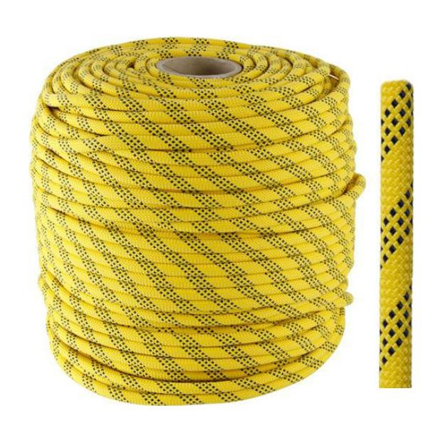 Веревка полустатическая Vento Венто «Высота V2 11» желтый 1м