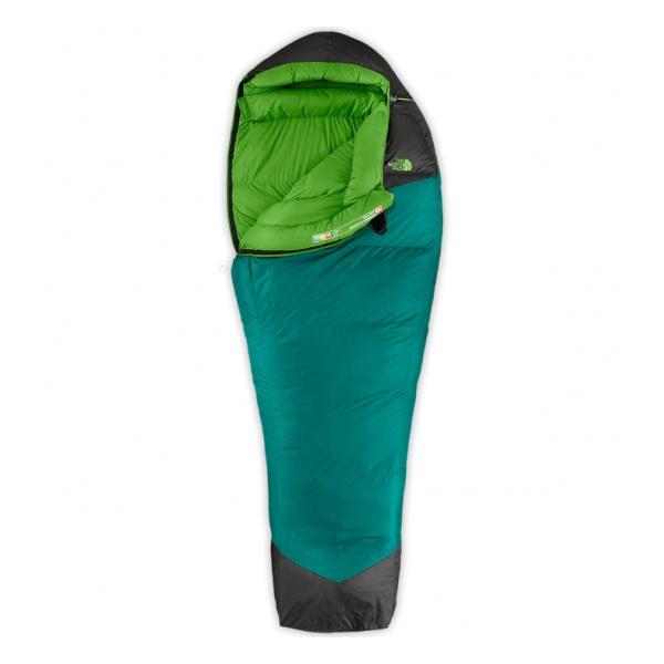 Спальник The North Face The North Face Green Kazoo левый голубой REG пуловер iwie iwie iw001ewvxs68