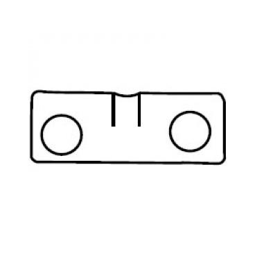 Бобышка Petzl Petzl для Rack несъемная страховочное устройство petzl petzl asap lock