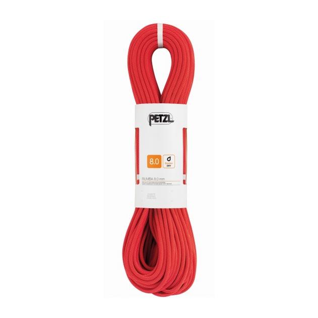 Веревка динамическая Petzl Petzl Rumba 8 мм (бухта 60 м) красный 60M