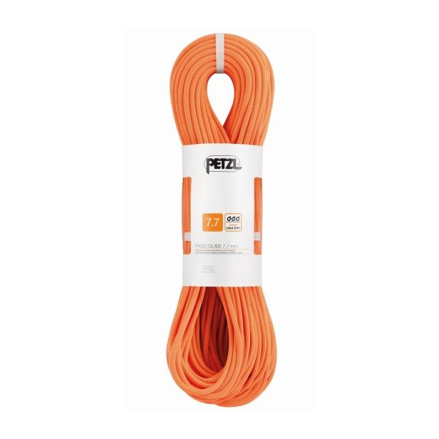 Веревка динамическая Petzl Petzl Paso Guide (бухта 50 м) оранжевый 50M