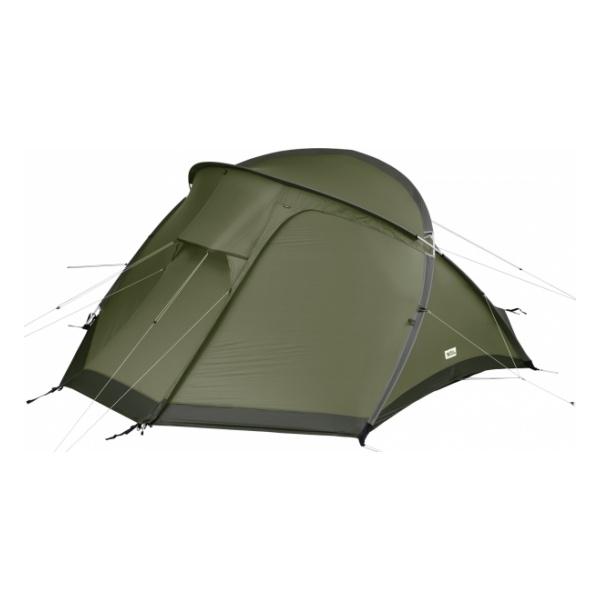 Палатка FjallRaven FjallRaven Abisko View 2 темно-зеленый 2/местная рюкзак fjallraven fjallraven abisko 75 темно серый 75л