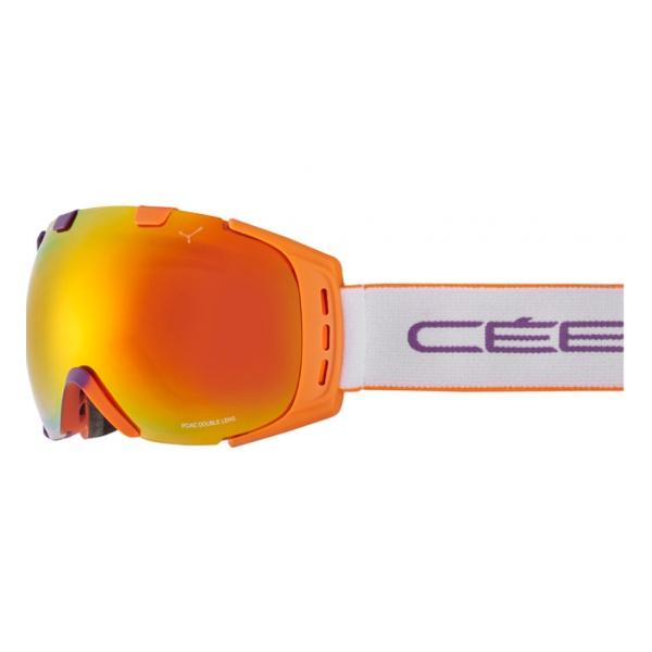 Горнолыжная маска Cebe Cebe Origins M фиолетовый M очки cebe cebe jorasses m фиолетовый m