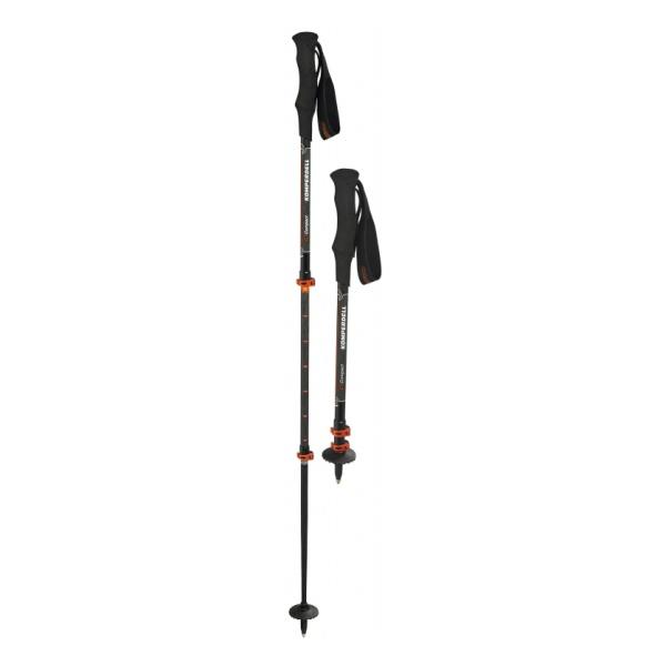цена Треккинговые палки KOMPERDELL Komperdell C3 Carbon Powerlock Compact 3.0 черный 120