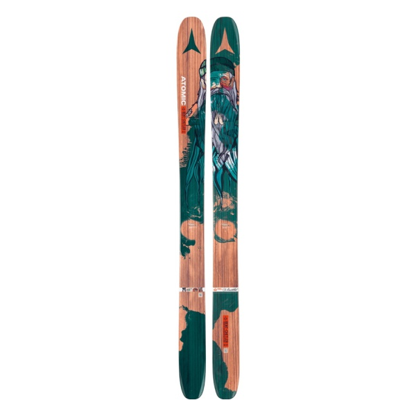 Горные лыжи Atomic Backland Bent Chetler разноцветный (16/17)