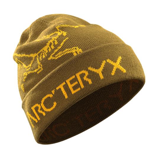Шапка Arcteryx Rolling Word Hat коричневый ONE