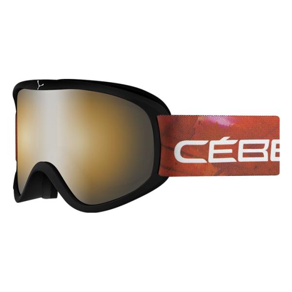 Горнолыжная маска Cebe Striker L черный