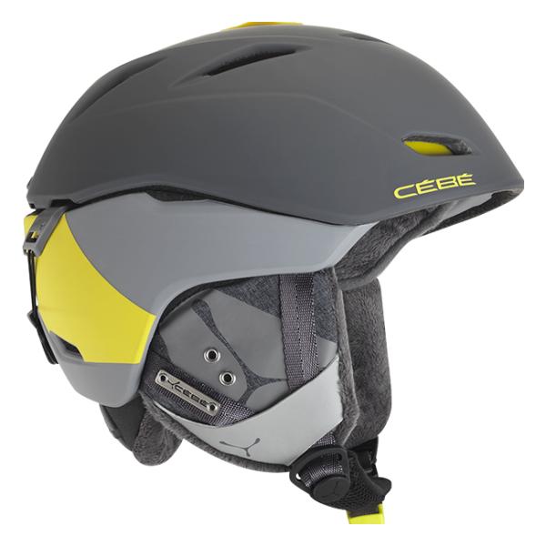Горнолыжный шлем Cebe Atmosphere Deluxe серый 58/62