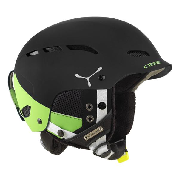 Горнолыжный шлем Cebe Dusk зеленый 55/58