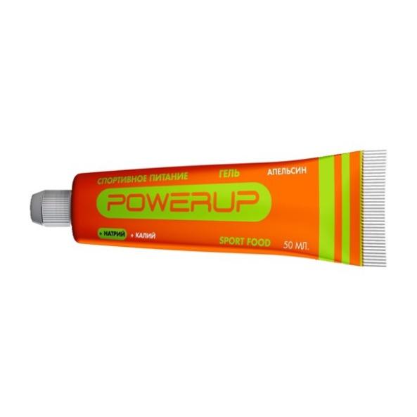 Гель POWERUP Powerup оранжевый 50ML брошь brand new pin bc 1898